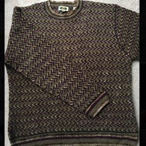 Joseph Abboud Wool Grandpa Sweater
